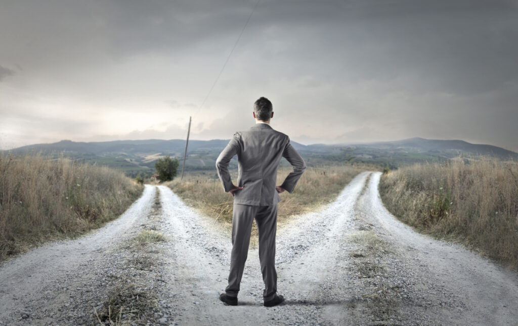 How can one overcome indecision when choosing