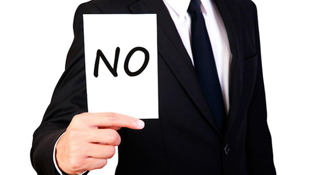 How to say no to a person